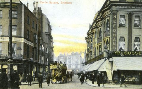 Castle Square in the early 1900s