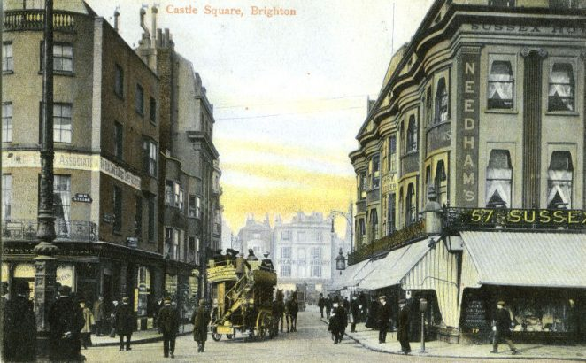 Castle Square in the early 1900s | From the private collection of Councillor Geoffrey Wells