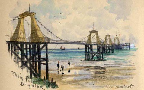 Watercolour painting by Clem Lambert