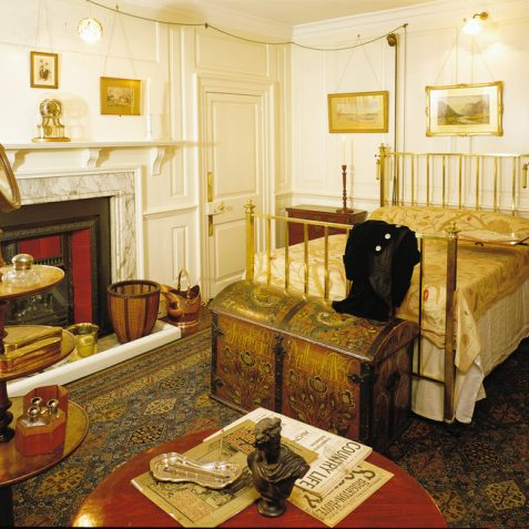 Charles Thomas Stanford's bedroom | Reproduced with permission from the Royal Pavilion & Museums, Brighton & Hove