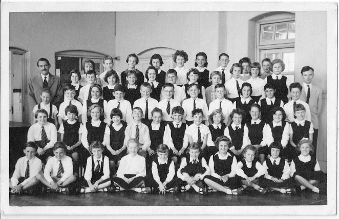 Downs Primary School Choir | From the private collection of Sue Harman