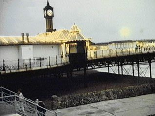 Photograph of The Palace Pier at night