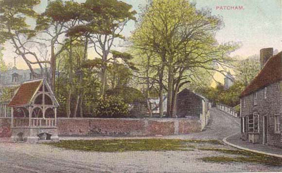 Postcard of Church Hill, Patcham, c1910 | From the private collection of Martin Nimmo
