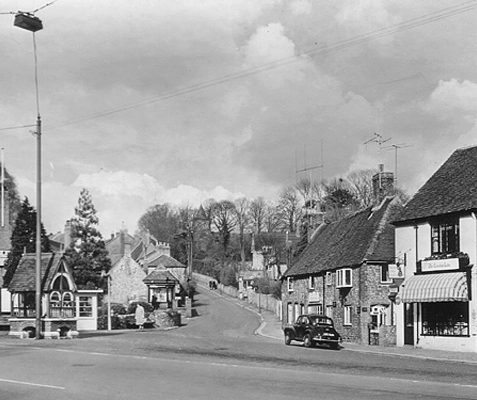 Church Hill, Patcham, ca 1960 | From the private collection of Martin Nimmo