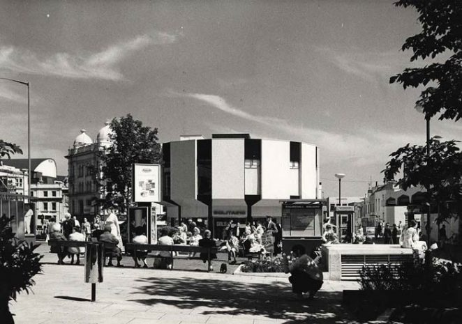 Churchill Square in the 1960s | Photo from private collection of Len Williams