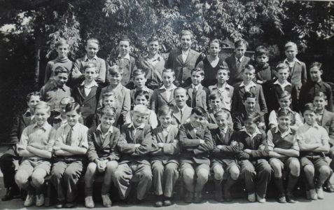 Class photo 1947/48: Junior School