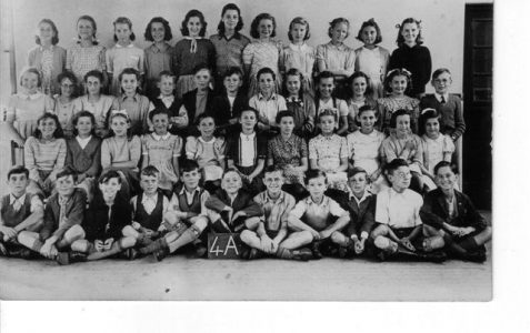 Junior School: Class 4a c1949/50