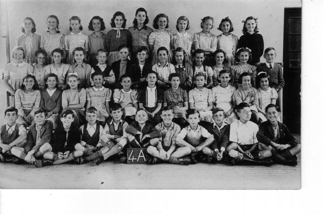Class 4A c1949/50 | From the private collection of Valerie Woodward