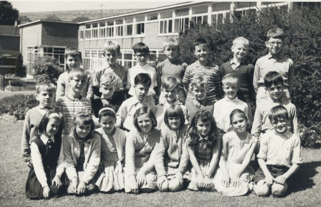 Mrs.Locke's class 3B 1963-64: Click on image to open a large version in a new window. | From the private collection of Roger Wilson