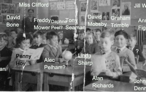 Miss Clifford's class 1955/6