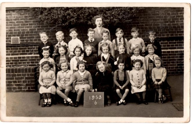 Miss Connolly's Class 6 of 1953 | From the private collection of John Sharp