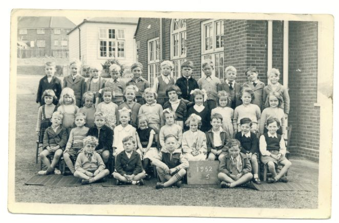 Whitehawk Primary School 1952 | From the private collection of Eric Cook
