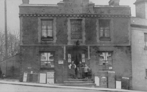 Photograph of Clifton Arms pub