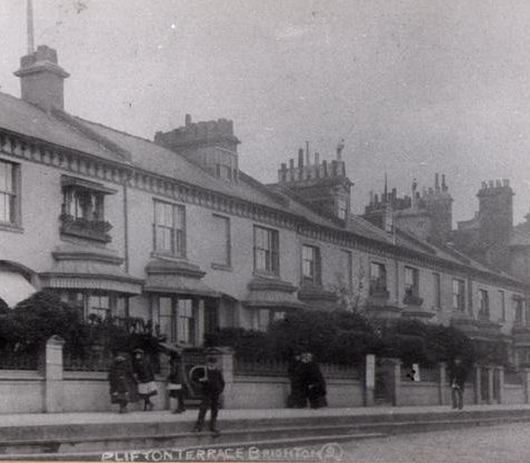 Photo of Clifton Terrace | From the private collection of Mr Tappin