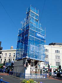 July 2001: Restoring the Clock Tower