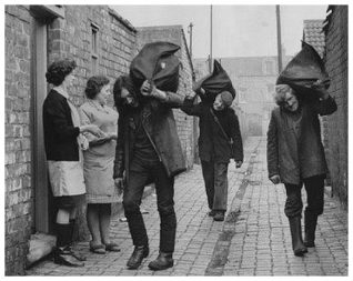 Coalmen delivering in the 1950s | From the private collection of Jennifer Drury