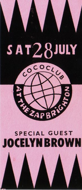 Coco Club flyer, 1990 | Image from the Zap archive