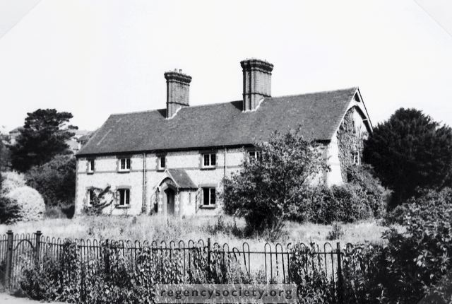 Cottages in Coldean Lane, photographed prior to demolition c1950 | Image reproduced with kind permission of The Regency Society and The James Gray Collection