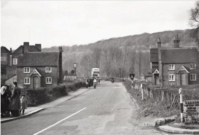 Coldean Lane 1954 | Image reproduced with kind permission of The Regency Society and The James Gray Collection