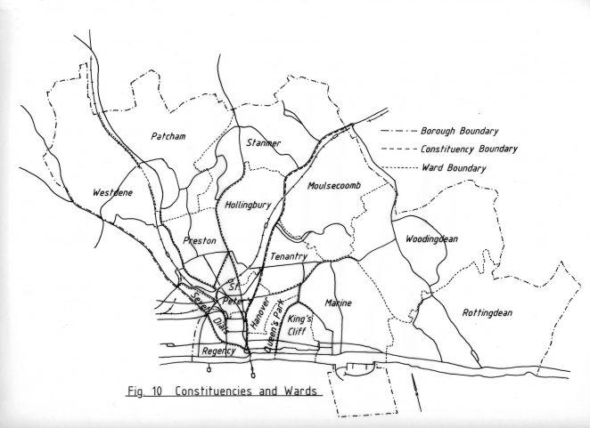 Constituencies and wards in Brighton