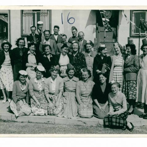 The Mums and Dads of Wiston Close   From the private collection of Eric Cook