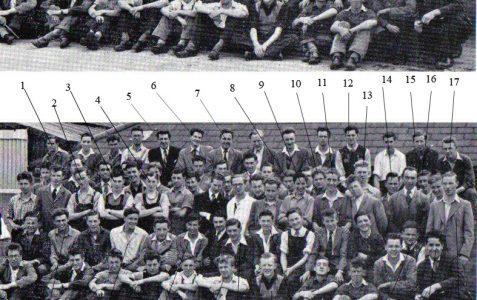 CVA Apprentices 1953