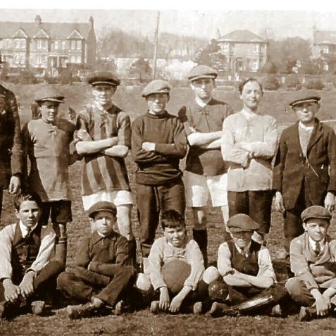 Portslade School Football team c1920 | From the private collection of Keith Upward