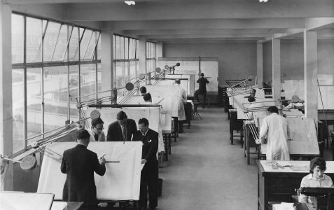 CVA Drawing Office c.1952
