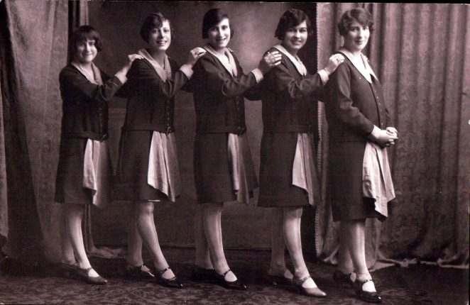 Beautifully dressed staff | From the private collection of Terry Hyde
