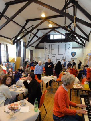 Event in the church hall | Photo by Brian Dungate