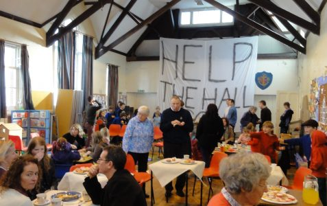Save Exeter Street Hall campaign