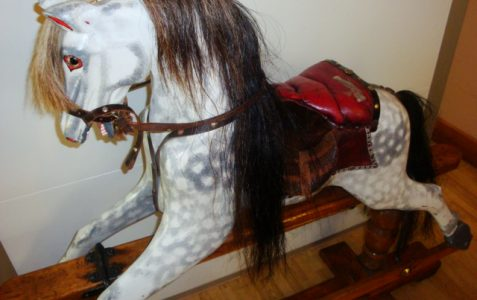 The famous 'Rocking Horse'