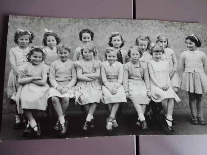 Children from Fairlight School Brighton | From the personal collection of Glynis Underhill nee Herring