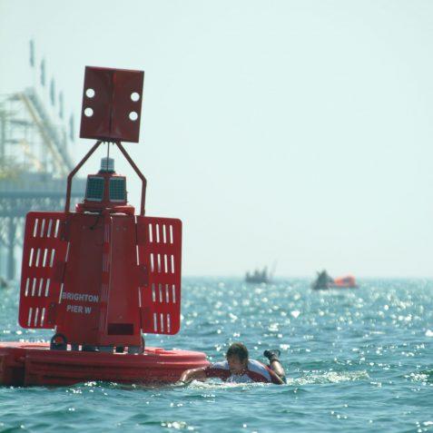 Malibu Pier to Pier Race Winner | Sean Clark / underwaterimage.co.uk