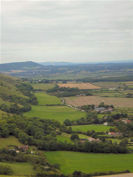 Looking out over Devil's Dyke | Photo by Zoe Woods 18/09/2005