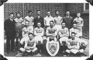 Albion Shield trophy team for season 1925/26. Click on photo to open a larger version | From the private collection of Leigh Sturgeon