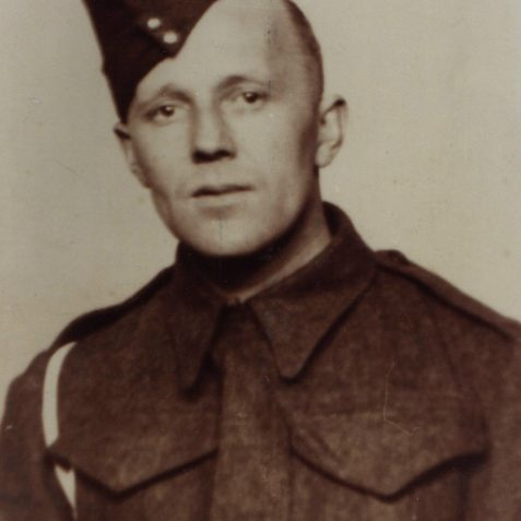 Harry Upward, Died in Burma Campaign Feb 1944 | From the private collection of Keith Upward