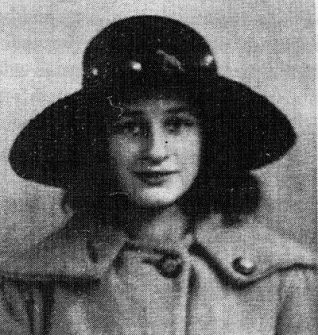 Daisy at age 14 years in 1922, dressed in her 'grown up' outfit | From the private collection ofJennifer Drury