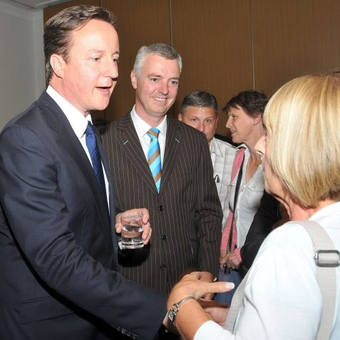 The PM with Simon Kirby MP | Photo by Tony Mould