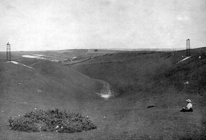 Devil's Dyke | Scanned from an original copy of '67 Views of Brighton, Hove and Neighbourhood', circa 1910, by kind permission of David Burgess