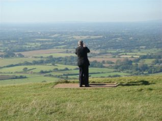 The view from Devil's Dyke | From the private collection of Kenneth Why
