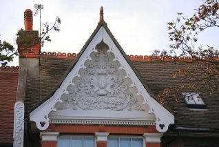 Ditchling Road: decorated gable | Photo by Tony Mould