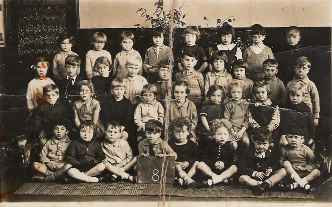 Infants class photo c1930/31 | From the private collection of Pamela Bennett nee Bolding