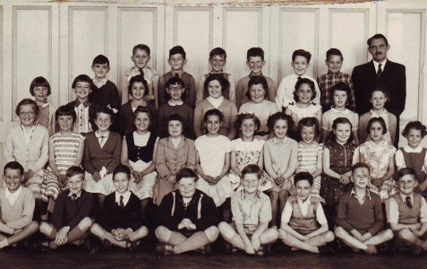 Mr Taylor's class c1958