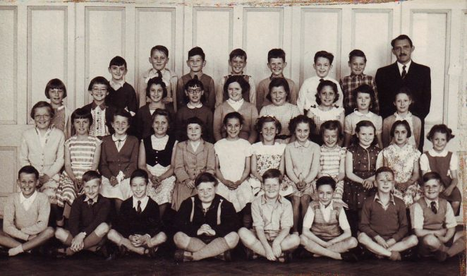 Downs School: Mr Taylor's class c1958 | From the private collection of Honor Wimlett