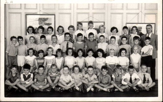 Mr Hinton's Class 2A 1958/59 | From the private collection of Alan Hobden