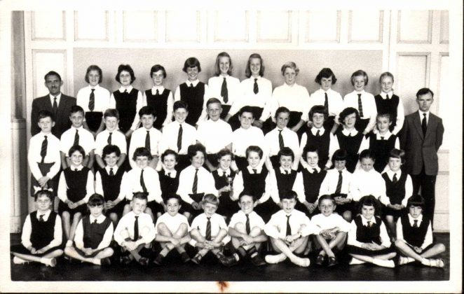 School Choir 1960/61 | From the private collection of Alan Hobden