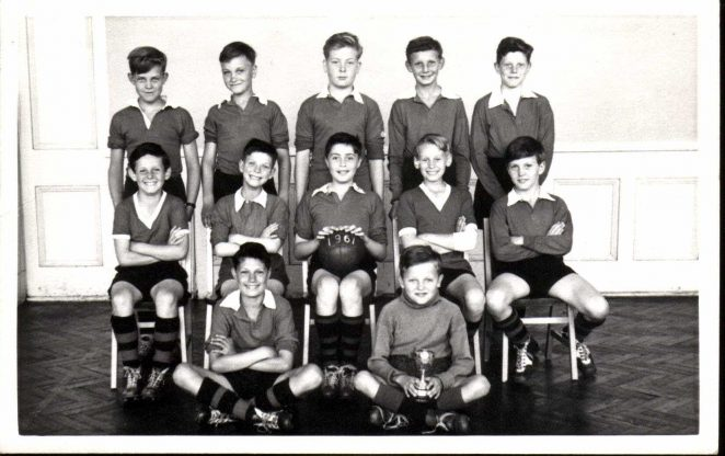 Football Team 1960/61 | From the private collection of Alan Hobden