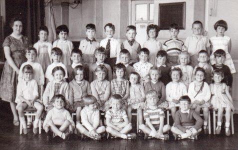 Mrs Smith's class 1962