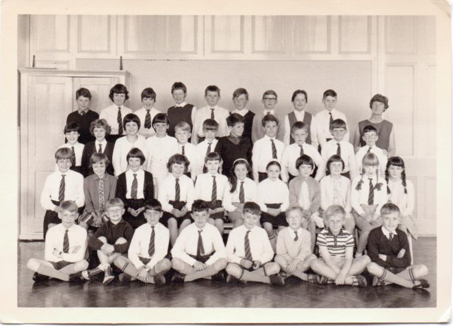 Miss Hake's Class 9, 1967. | From the private collection of Graham Maskell